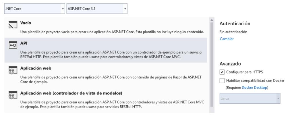 API Active Directory B2C
