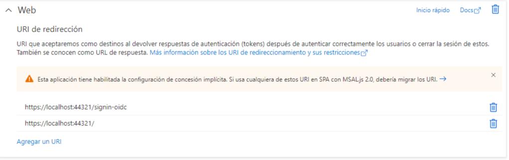 Autenticación Active Directory B2C